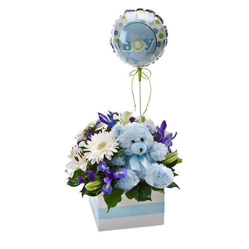New baby flowers online